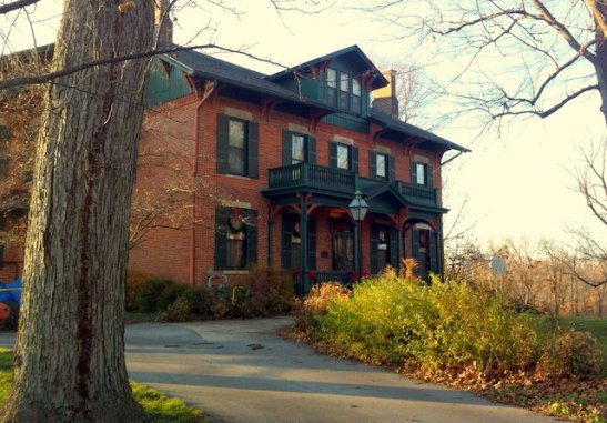 Home of the Fort Wayne Flax and Fleecers Guild. The Swinney Homestead, Fort Wayne, Indiana.