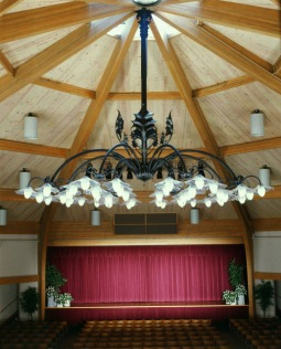 Founder's Hall at Sauder Village, Archbold, Ohio.